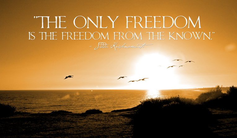 only-freedom-of-the-known