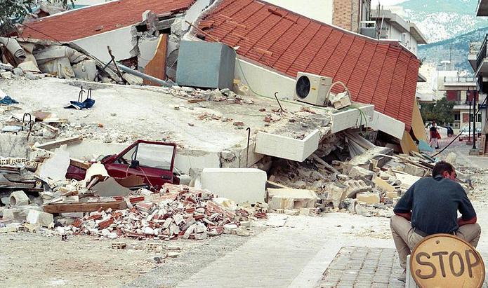 Αποτέλεσμα εικόνας για άνω λιόσια σεισμός