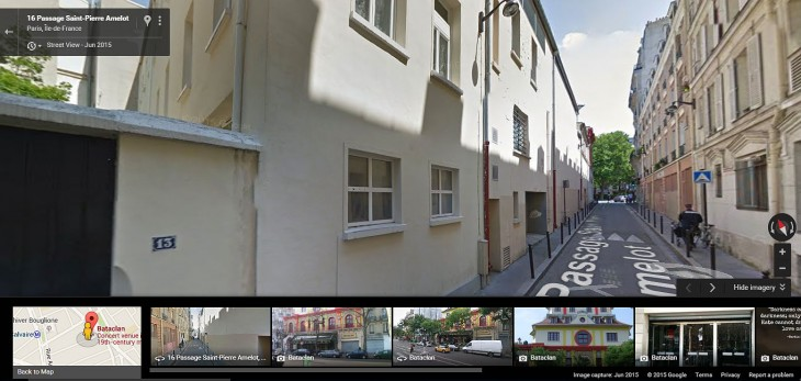 Bataclan-passage-Google-street-view
