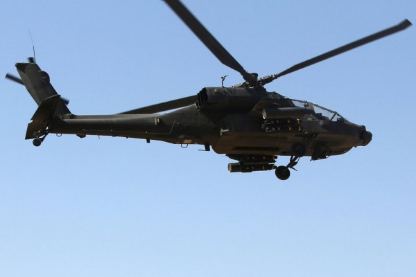Egyptian-military-helicopter