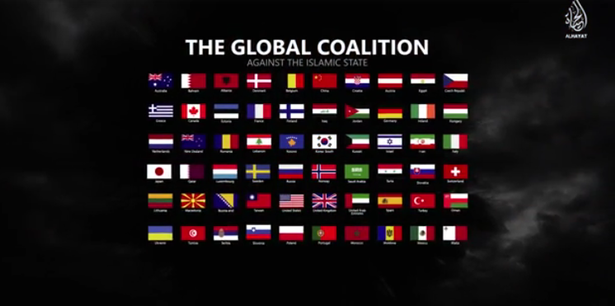 ISIS FLAG THREATS