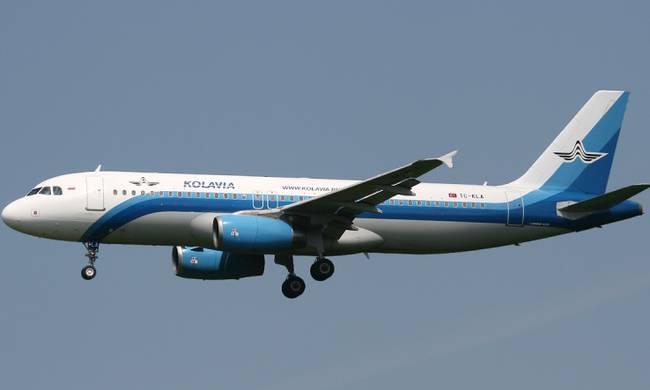 Kolavia-Airbus