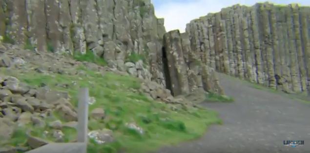 mystery door Giants Causway