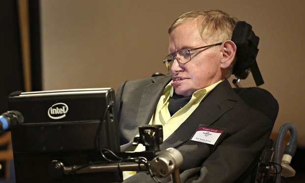 Stephen Hawking talks to Royal College of Surgeons