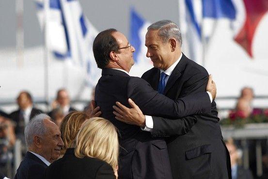 Netanyahu-Hollande
