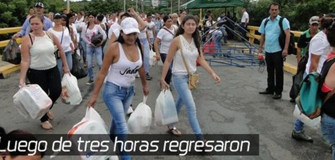 Πείνα στη Βενεζουέλα: Οι γυναίκες πάνε με τα πόδια στην Κολομβία να ψωνίσουν, τραγουδώντας τον εθνικό ύμνο [βίντεο]