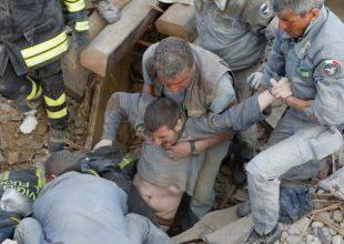 Σεισμός 6,2 Ρίχτερ στην Ιταλία -63 νεκροί, 150 αγνοούμενοι