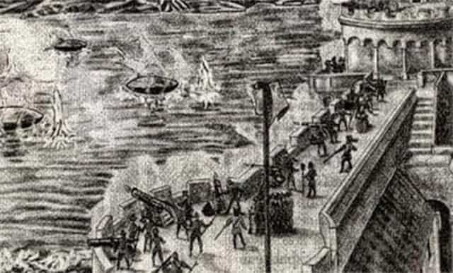 Μάχη με Άγνωστα Αντικείμενα στην Γαλλία του 1608 μ.Χ. !