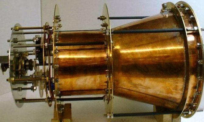 Αποτέλεσμα εικόνας για Ο κινητήρας χωρίς καύσιμο που ανατρέπει τους νόμους της φυσικής