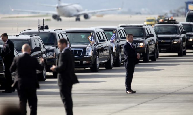 Τι ρόλο παίζει το κάθε όχημα στην αυτοκινητοπομπή του Ομπάμα