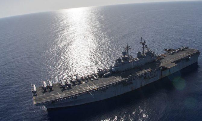 ΕΚΤΑΚΤΟ: Δύο αμερικανικά πολεμικά πλοία με 4.000 πεζοναύτες εισήρθαν στην Μεσόγειο! (Βίντεο)