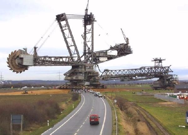 Worlds Biggest Excavator Photoshop Picture