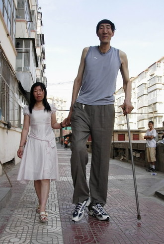 Tallest man Photoshop Picture