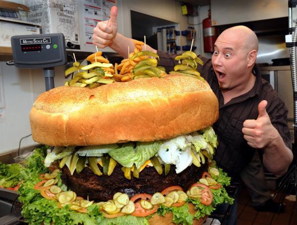 Largest Hamburger Photoshop Picture