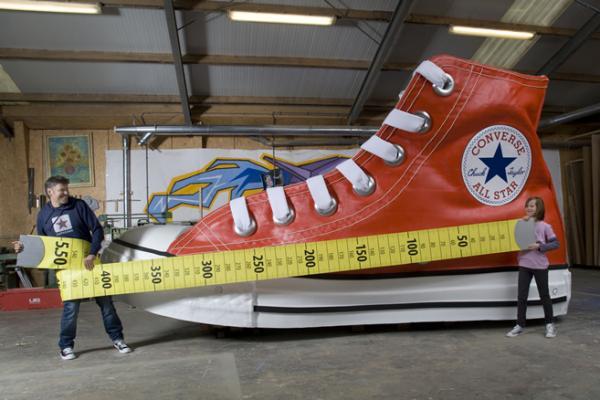 Largest shoe Photoshop Picture
