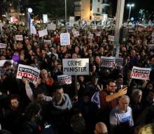 Χιλιάδες Ισραηλινοί στο Τελ Αβίβ ζητούν την παραίτηση του πρωθυπουργού Νετανιάχου
