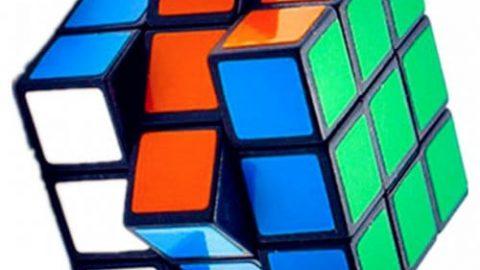 Children Educational Toys Cube - MULTI
