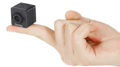 Quelima SQ12 Mini 1080P FHD DVR Dash Camera - BLACK
