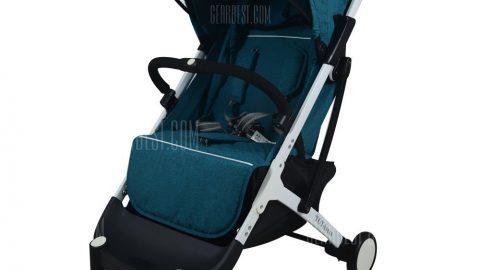 YOYAplus A09 Foldable Baby Stroller - BLUE EYES