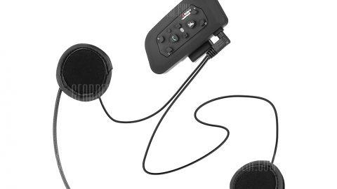 VNETPHONE V6 Motorcycle Helmet Bluetooth Intercom Headset - BLACK 20