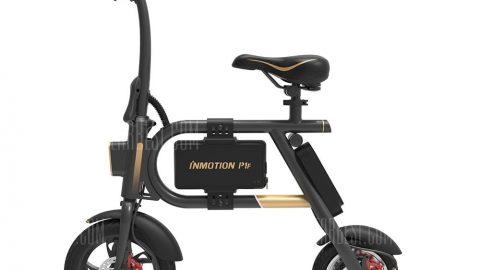 INMOTION P1F Mini Folding Electric Bike - BLACK 3