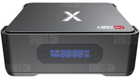 A95X Max TV Box - BLACK EU PLUG 3