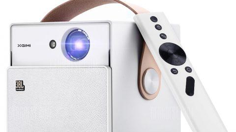 XGIMI CC Mini Portable Projector LED 1080P Full HD - CRYSTAL CREAM