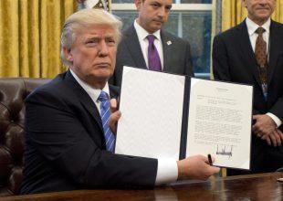 Τραμπ - Εκτελεστική Αποφαση