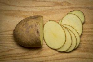 Πράσινες πατάτες